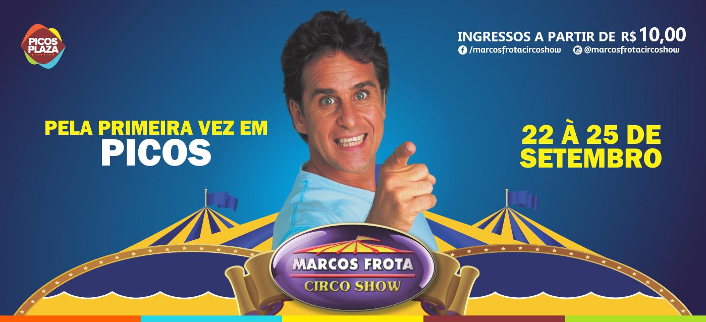 Marcos Frota Circo Show chegará no Picos Plaza Shopping