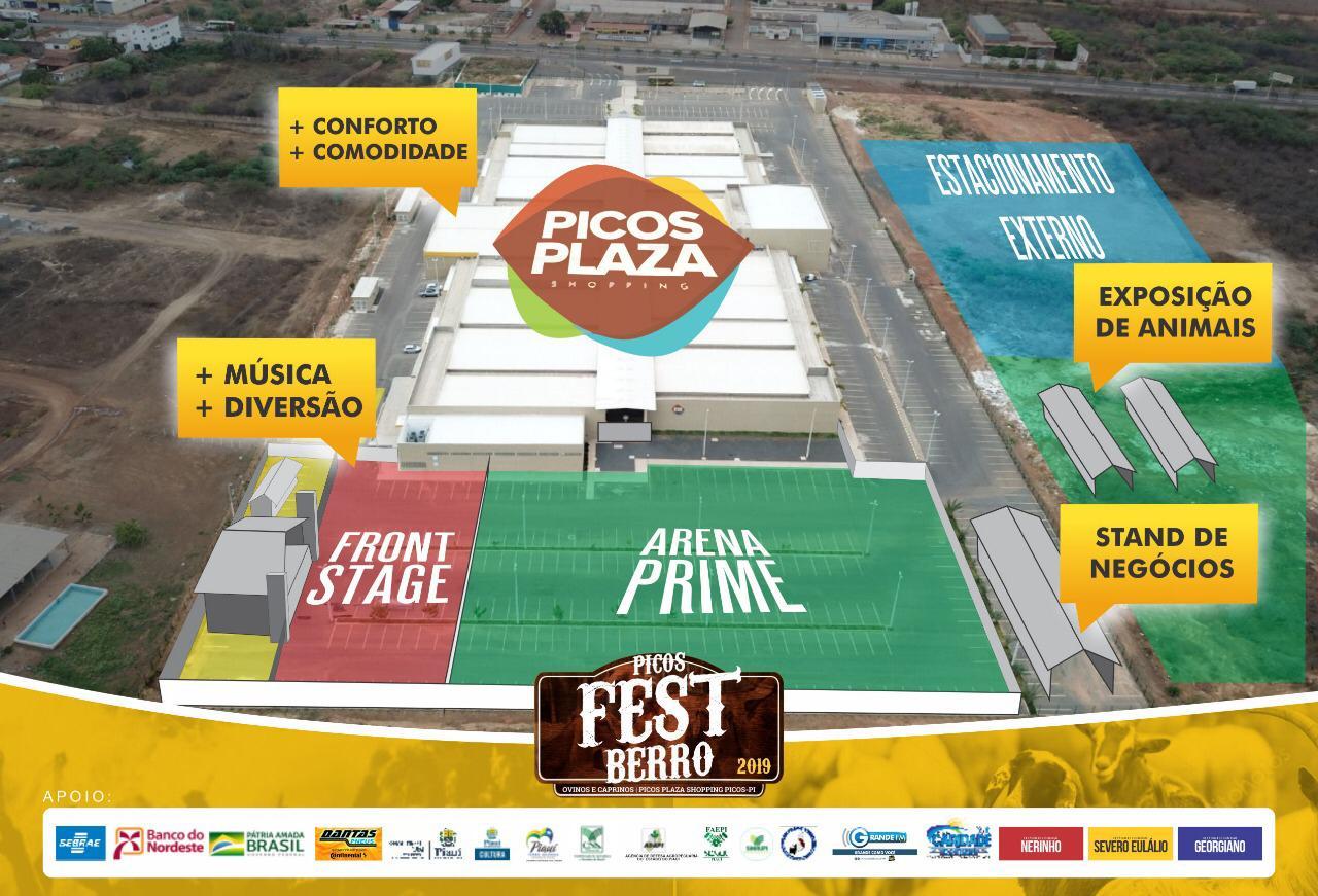 Ingressos para a Arena Prime do Picos Fest Berro já estão à venda