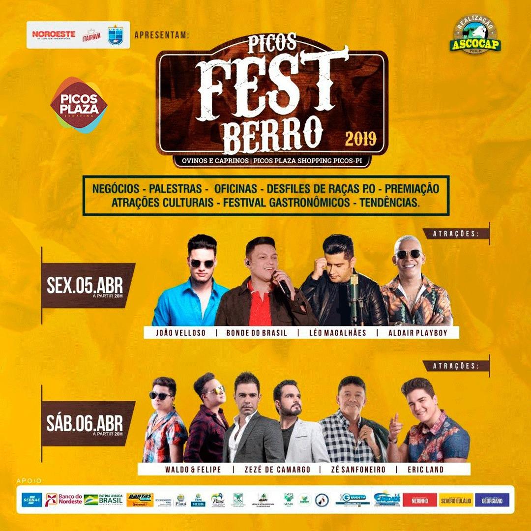 Picos Plaza Shopping recebe VI edição do Picos Fest Berro