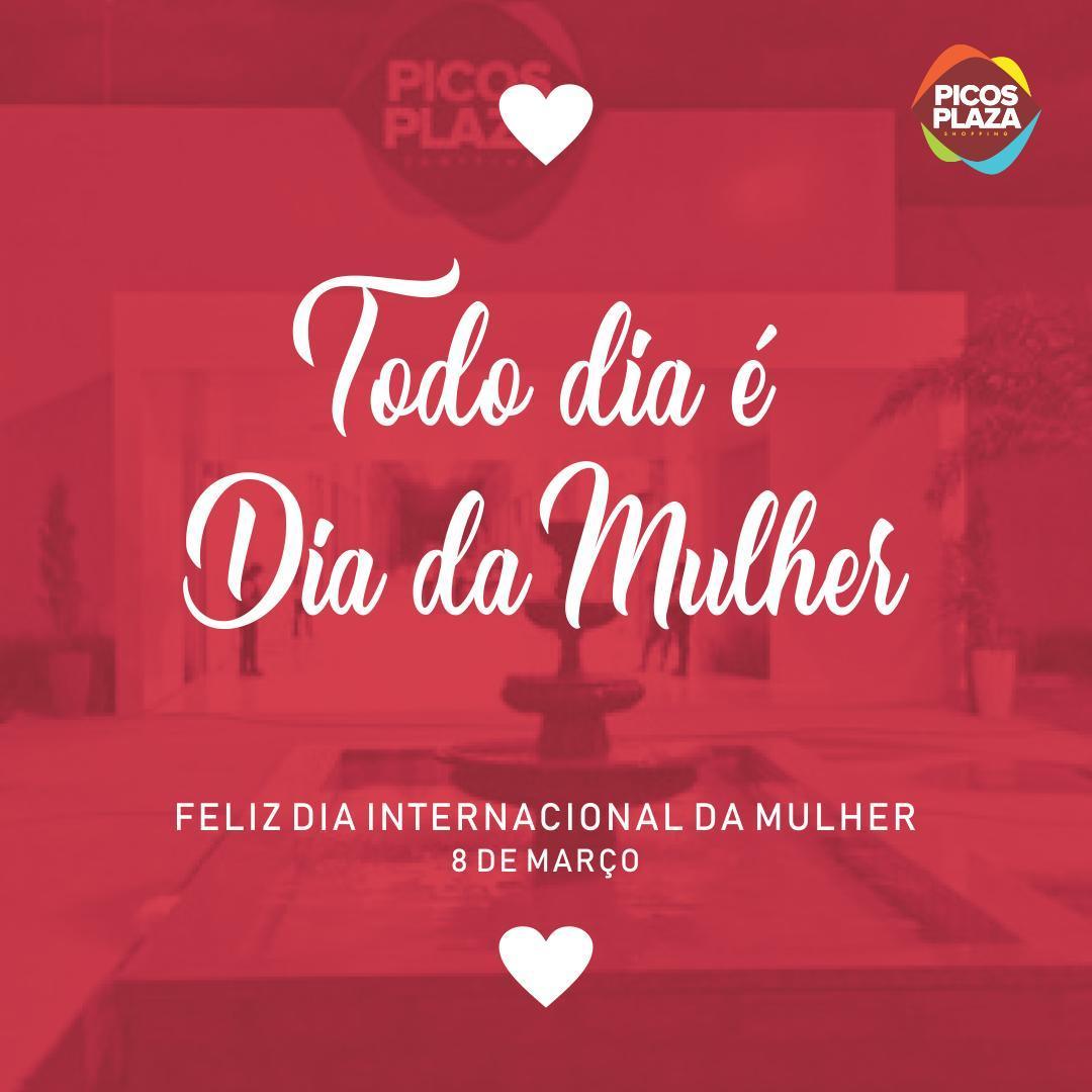 No Dia da Mulher o Picos Plaza Shopping tem programação especial